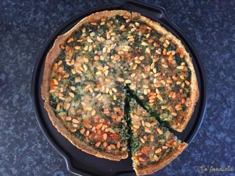Tarte gorgonzola et épinards (5)