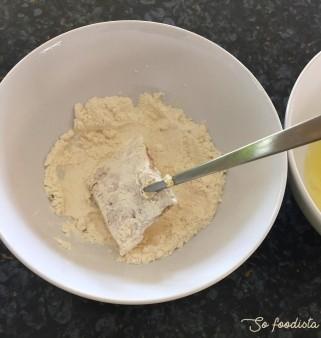 Colin pané et sa sauce légère (2)