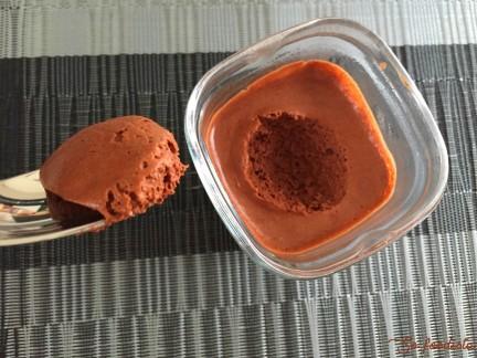 Mousse au chocolat au lait de coco (5)