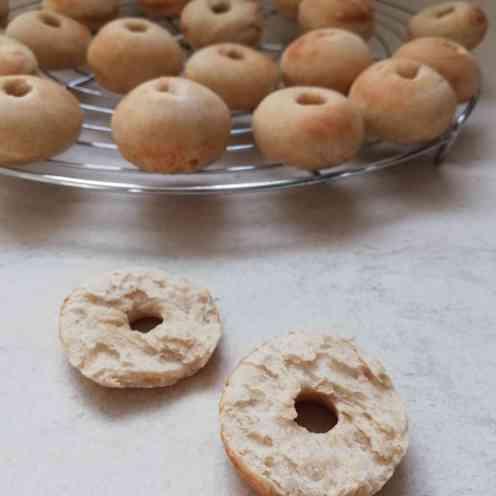 donuts, vue de l'intérieur