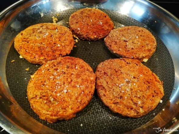 steak de haricots azuki