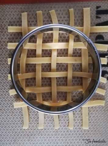 tissage de la pâte brisée
